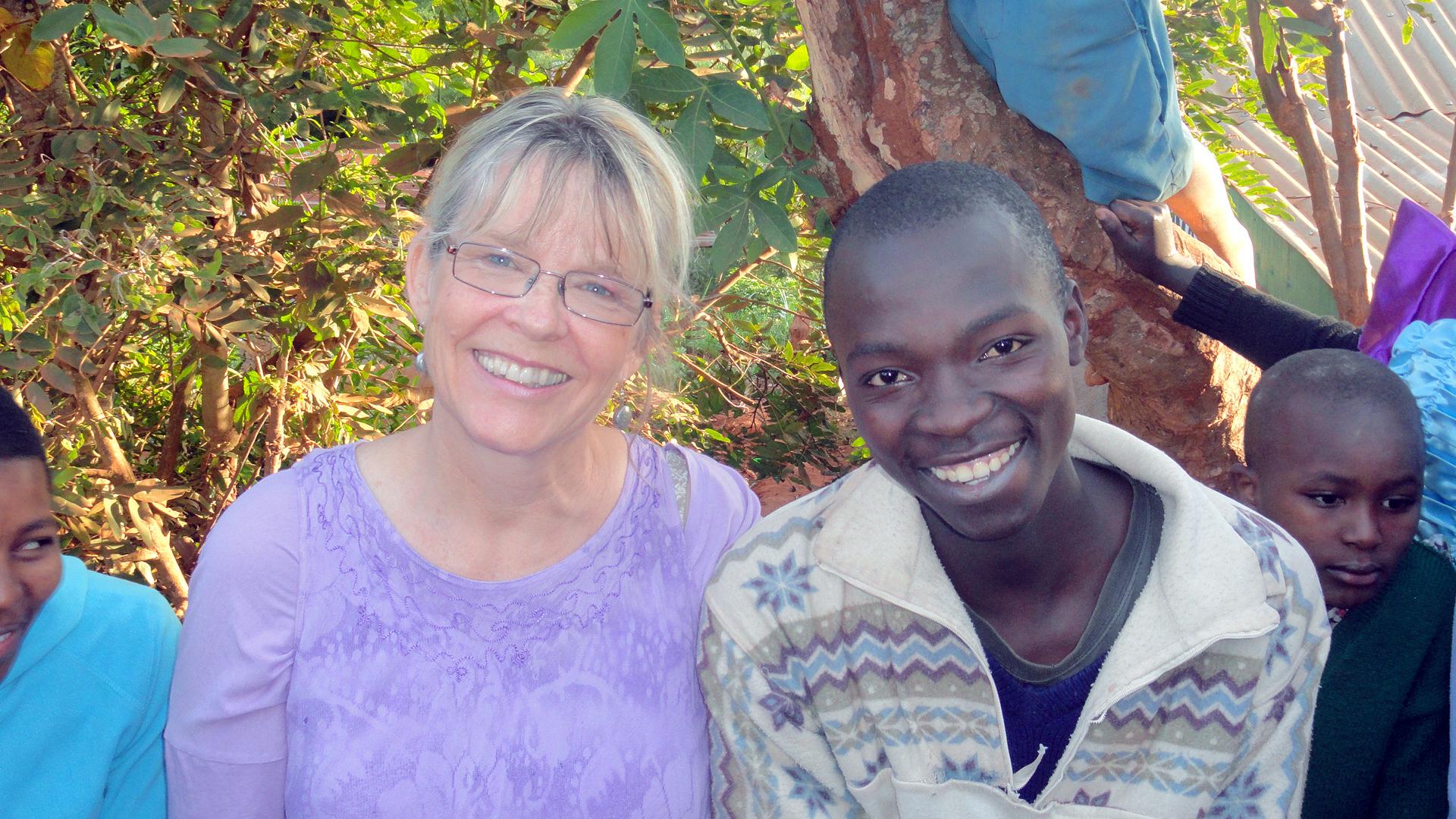 Keli with Anita Walters