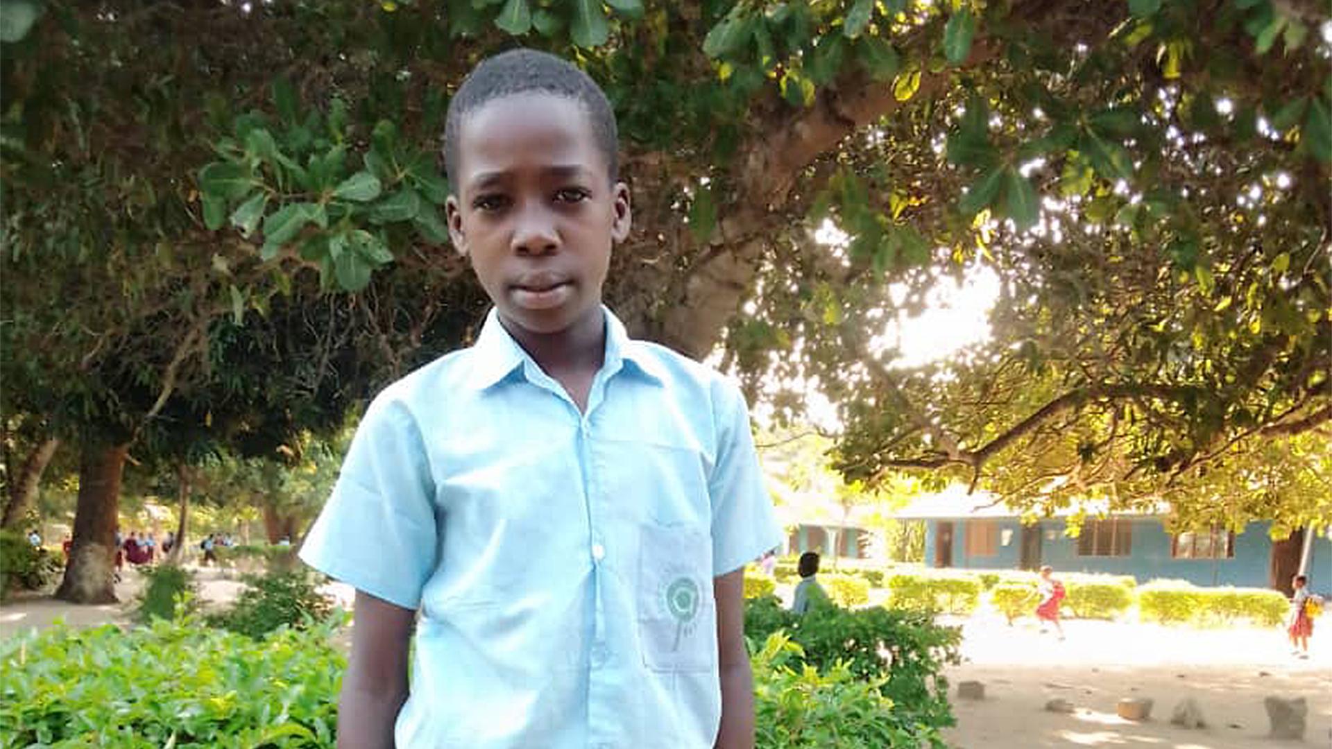 Kibika at Amani Christian School