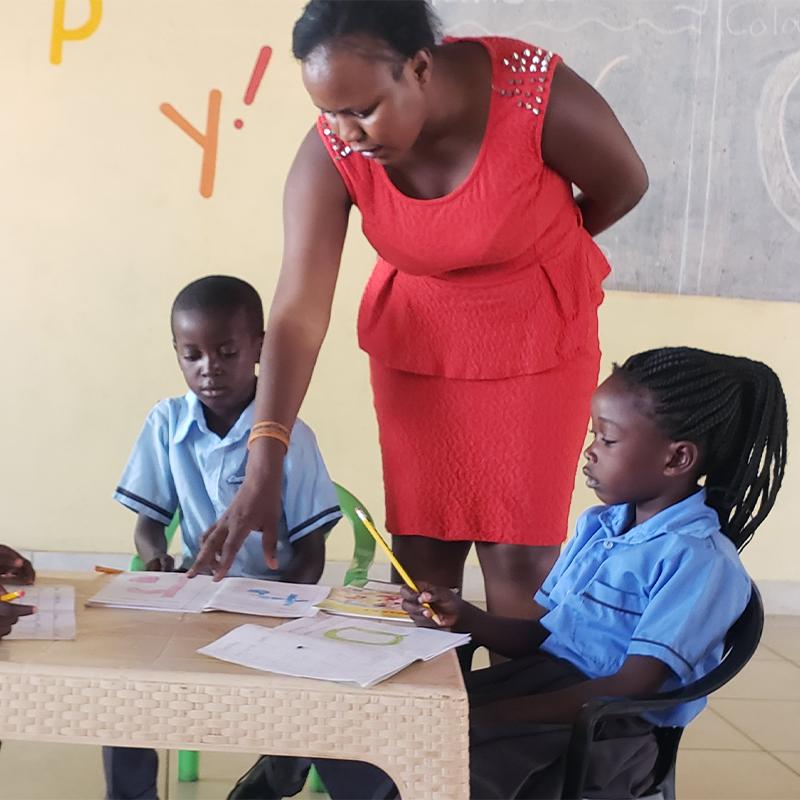 teacher in zambia
