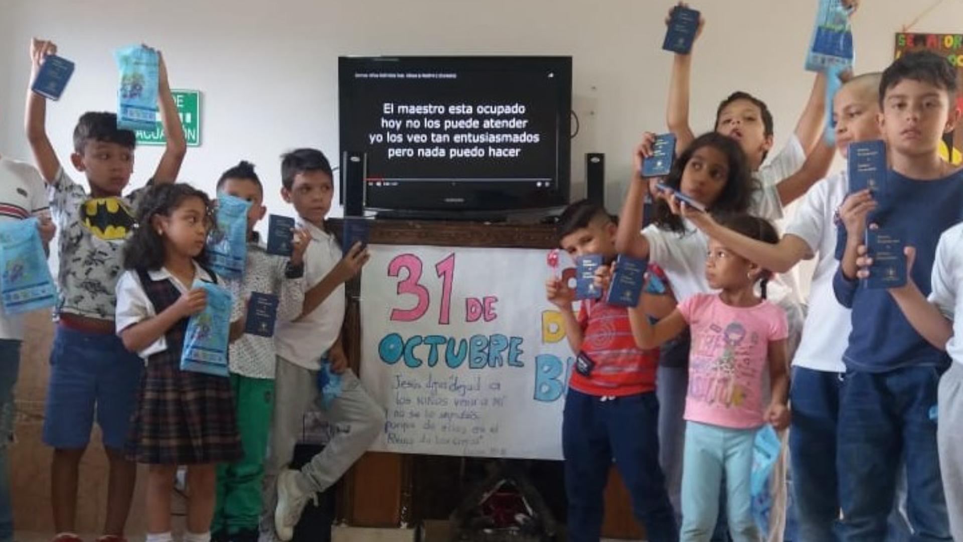 Children at Tiempo de Paz